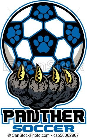 vector panther soccer stock illustration royalty free rh pinterest co uk panther head clipart free panther head clipart free