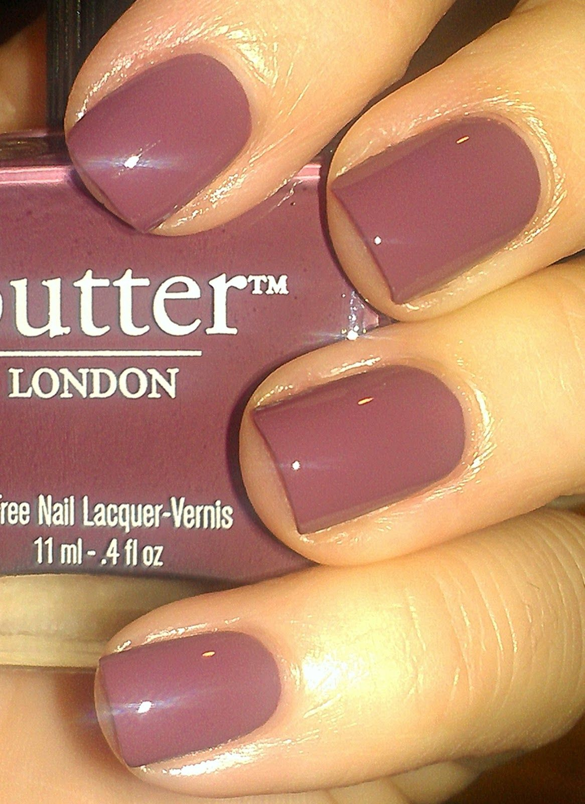 High Nails | Butter London, Toff