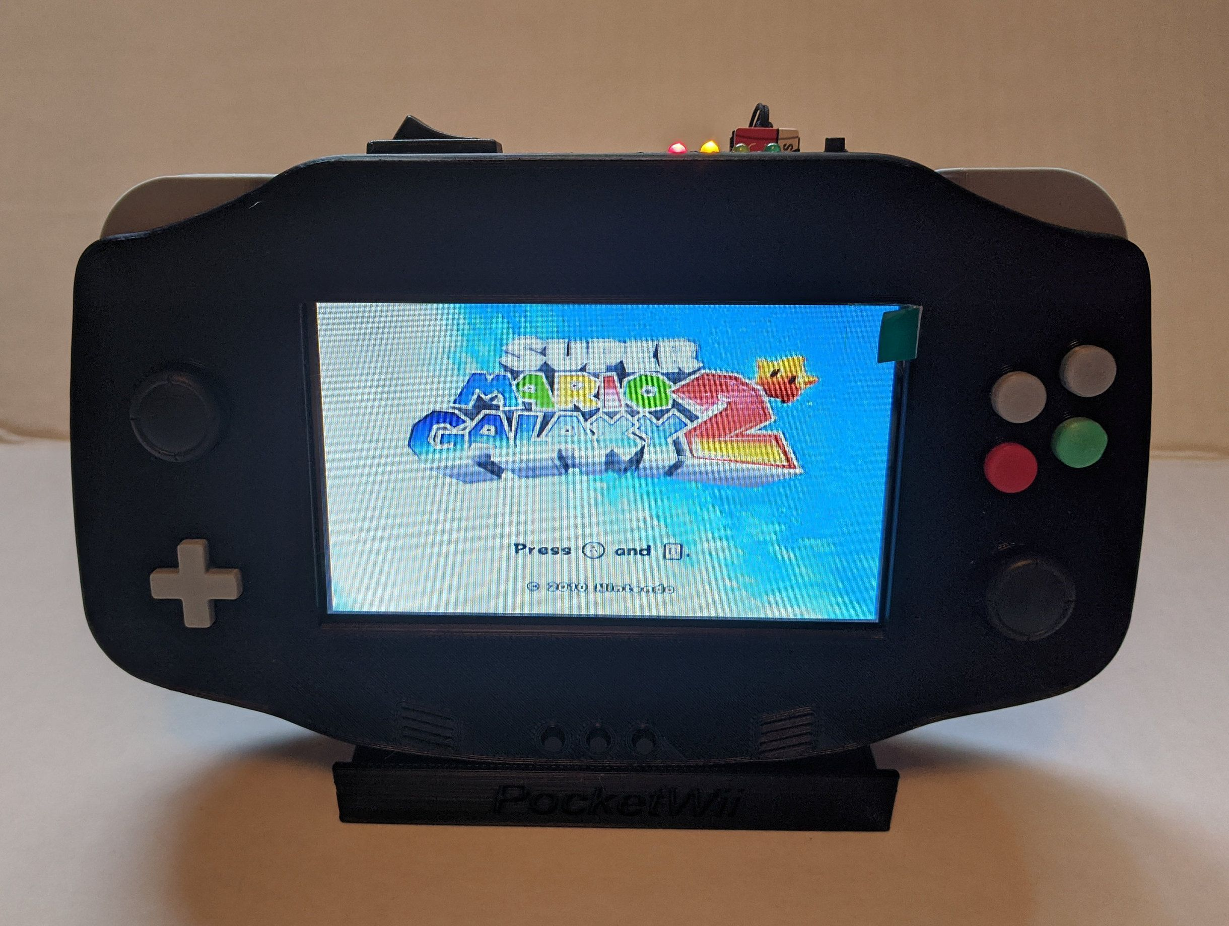 Raspberry Pi Gamecube Portable