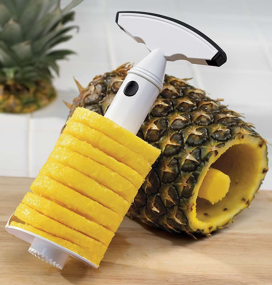 Pineapple corer and slicer // Awesome...