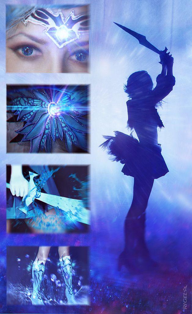 Dark Sailor Mercury by AxsenArt on deviantART | Sailor