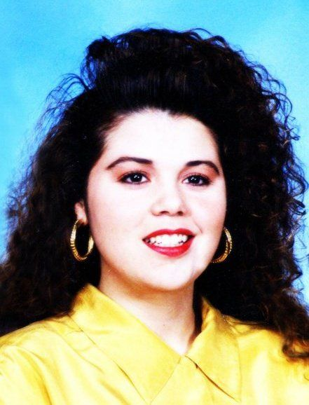 Rocking my 90's hair (and shoulder pads)!