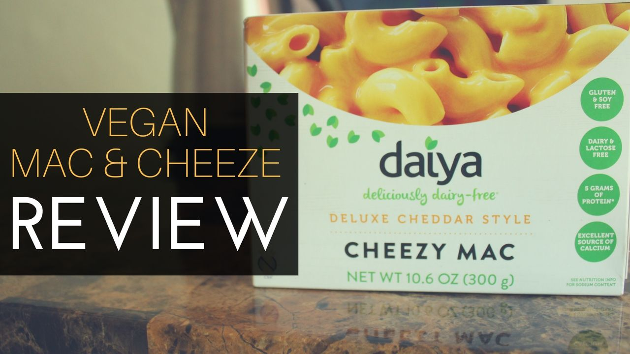 Daiya Vegan Dairy Free Gluten Free Cheezy Mac Review What I M Blogging About Now Pinterest