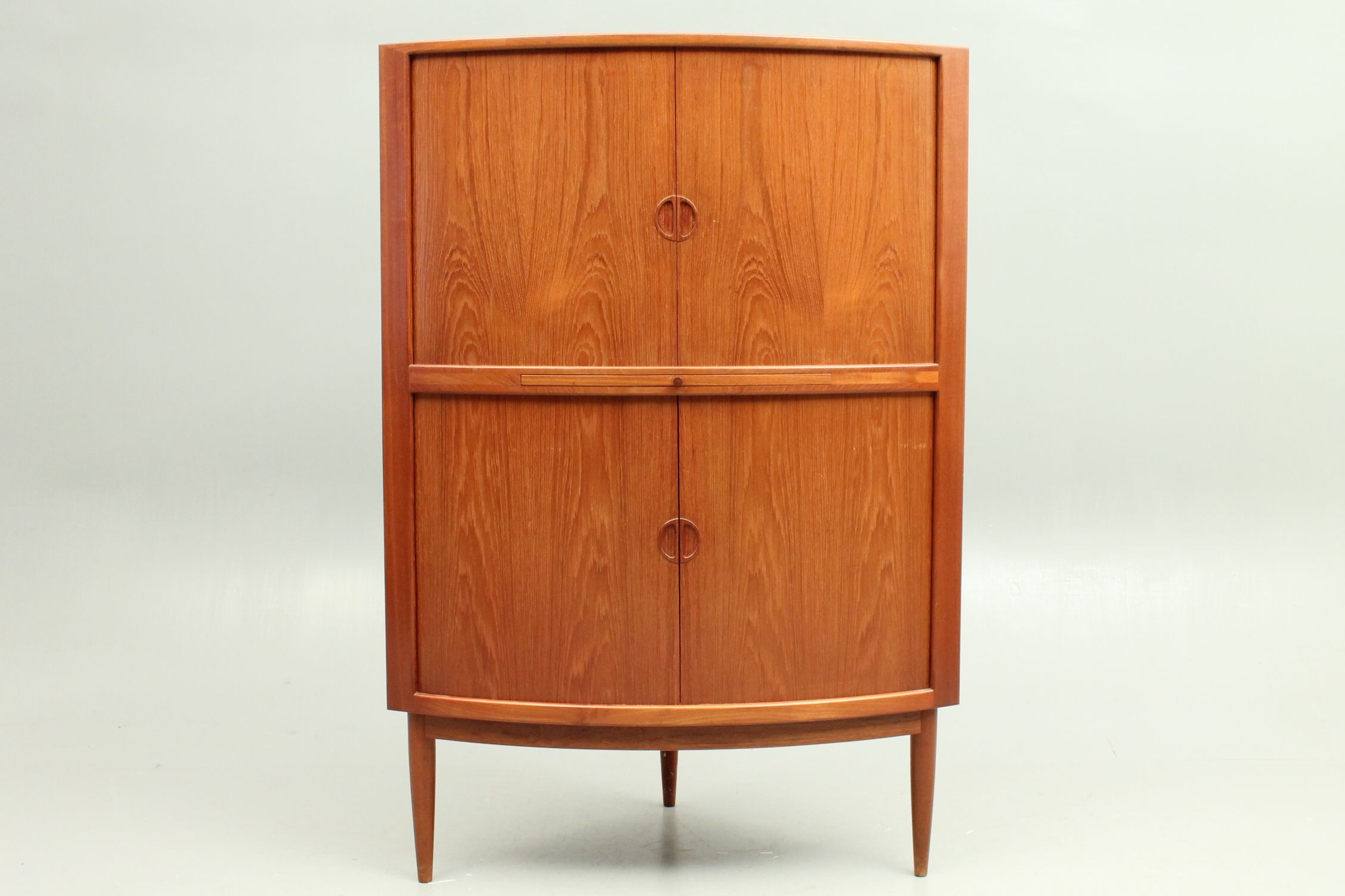 Corner Cabinet In Teak Designed By Kurt Ostervig And Produced By