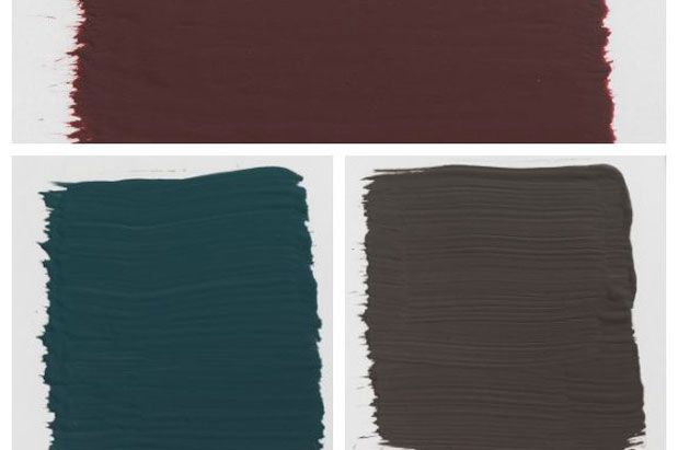 3 Tips For Using Dark Paint Colors In Small Spaces Dark Paint Colors Paint Colors Brinjal Farrow And Ball