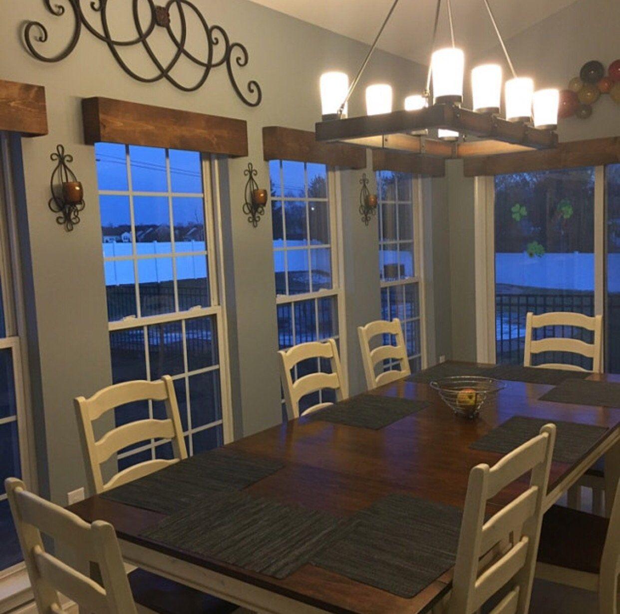 Custom Wood Window Valance Large