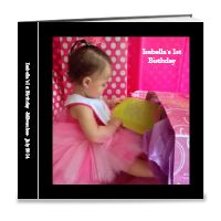 Baby's 1st Birthday 12x12 Book (29 pages)
