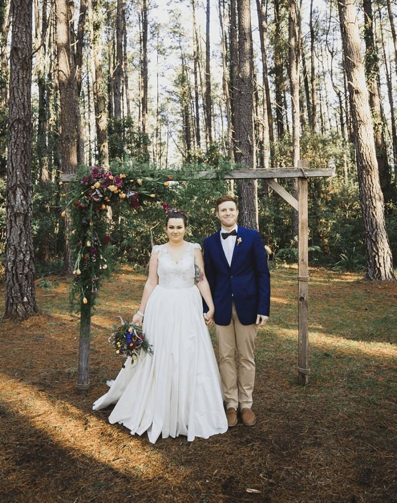 Whimsical Vintage Wedding In Forest