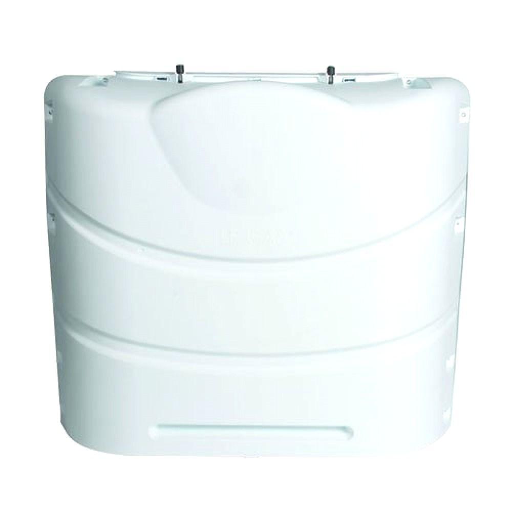 Propane Gas Tank Cover Accessories Case Camping Part Camper RV Trailer White NEW