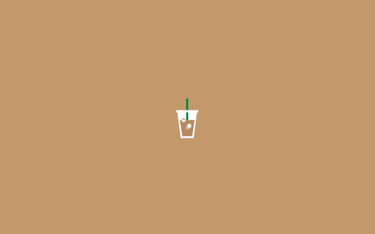 Jessneil Iced Coffee Aesthetic Desktop Wallpaper Minimalist Desktop Wallpaper Cute Desktop Wallpaper