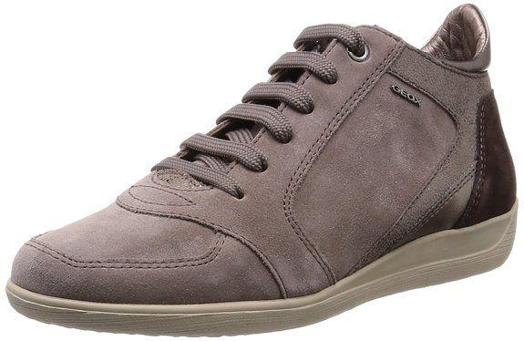 Transeúnte Anoi productos quimicos  Geox D MYRIA B - zapatillas deportivas altas de cuero mujer: Amazon.es:  Zapatos y complementos | Zapatillas deportivas, Zapatillas, Zapatillas altas