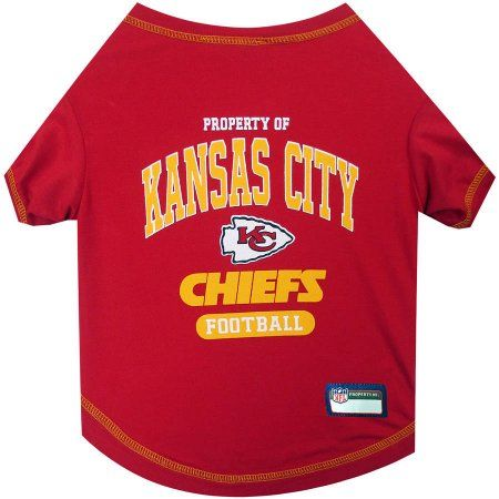 premium selection 621ca 82930 Pets First NFL Kansas City Chiefs Pet T-shirt, Assorted ...