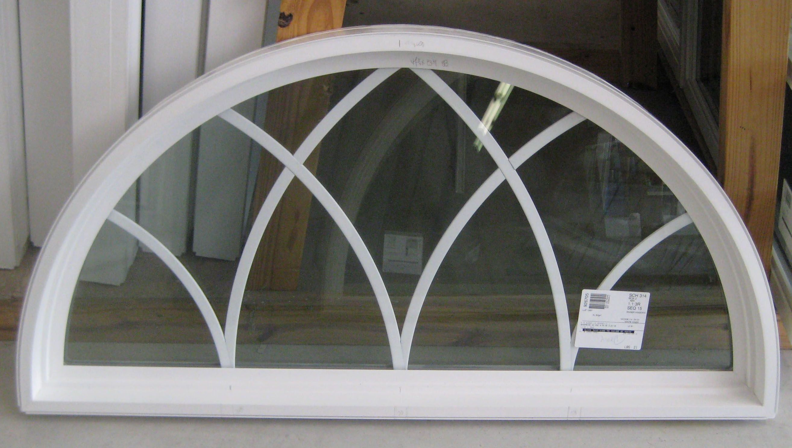 Whether the style is country french victorian english for Window design with arch
