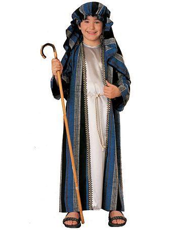 Deluxe Shepherd Costume Child Shepherd Costume Biblical Costumes Christmas Costumes