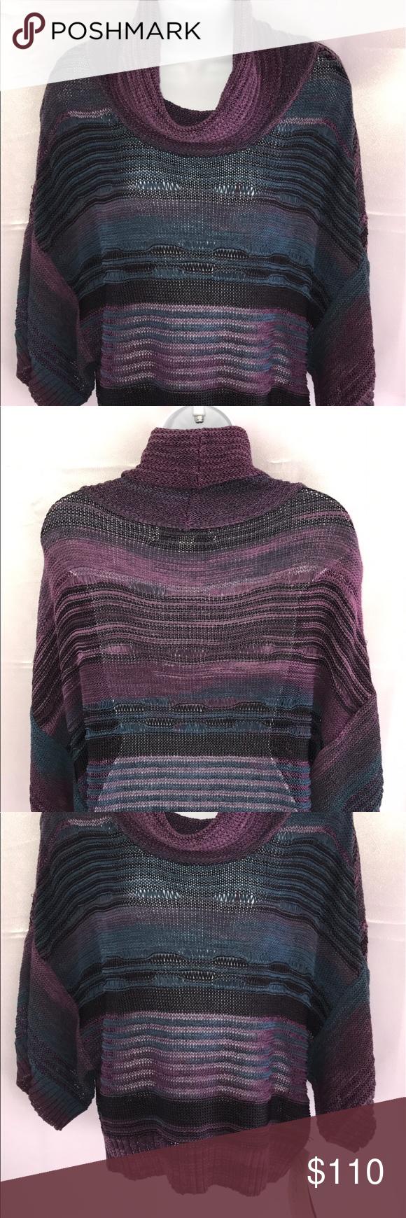 Crochet purple and black sweater Boutique | Combination colors ...