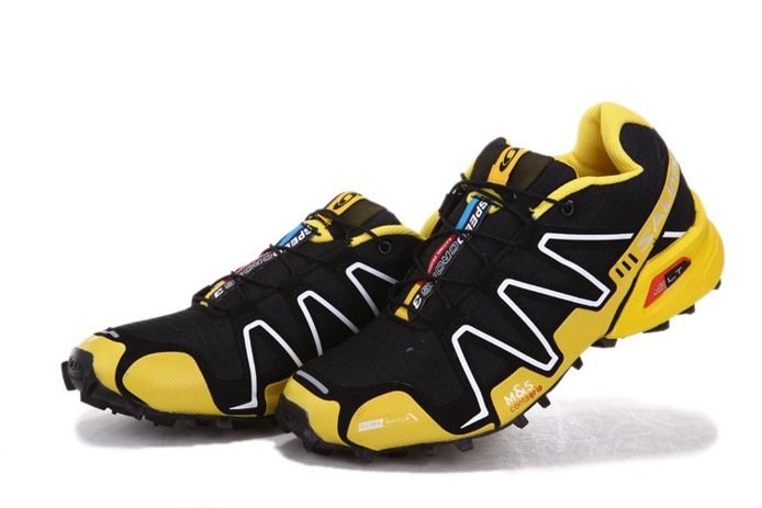 Black Yellow 3 Running Shoes Speedcross Trail Salomon qSpGLUMVz