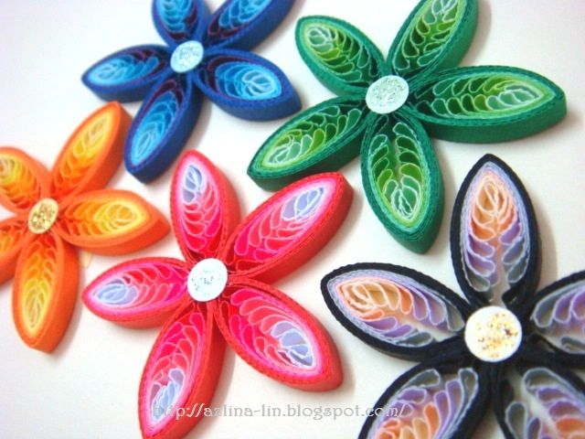 Quilled multi colored flowers crafts pinterest quilling paper quilled multi colored flowers crafts pinterest quilling paper quilling and quilling ideas mightylinksfo