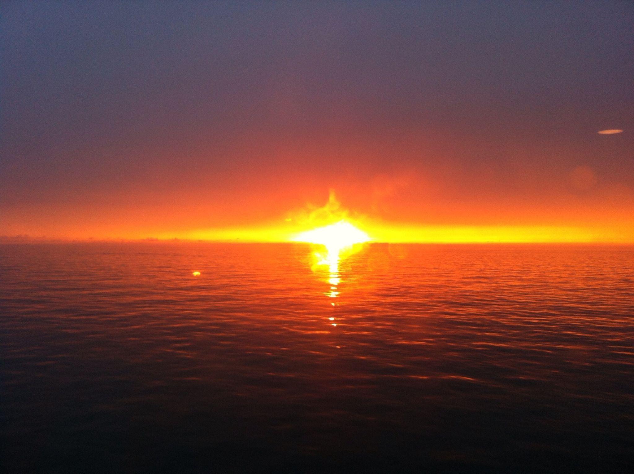 Couch de soleil en manche paysage pinterest manche - L heure du coucher du soleil aujourd hui ...