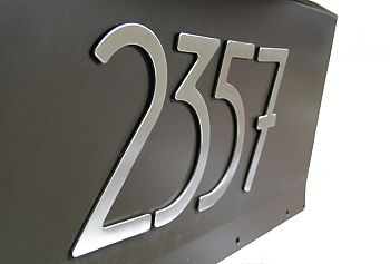 Self Stick Numbers Are Perfect For Mailbo Address Seattleluxe