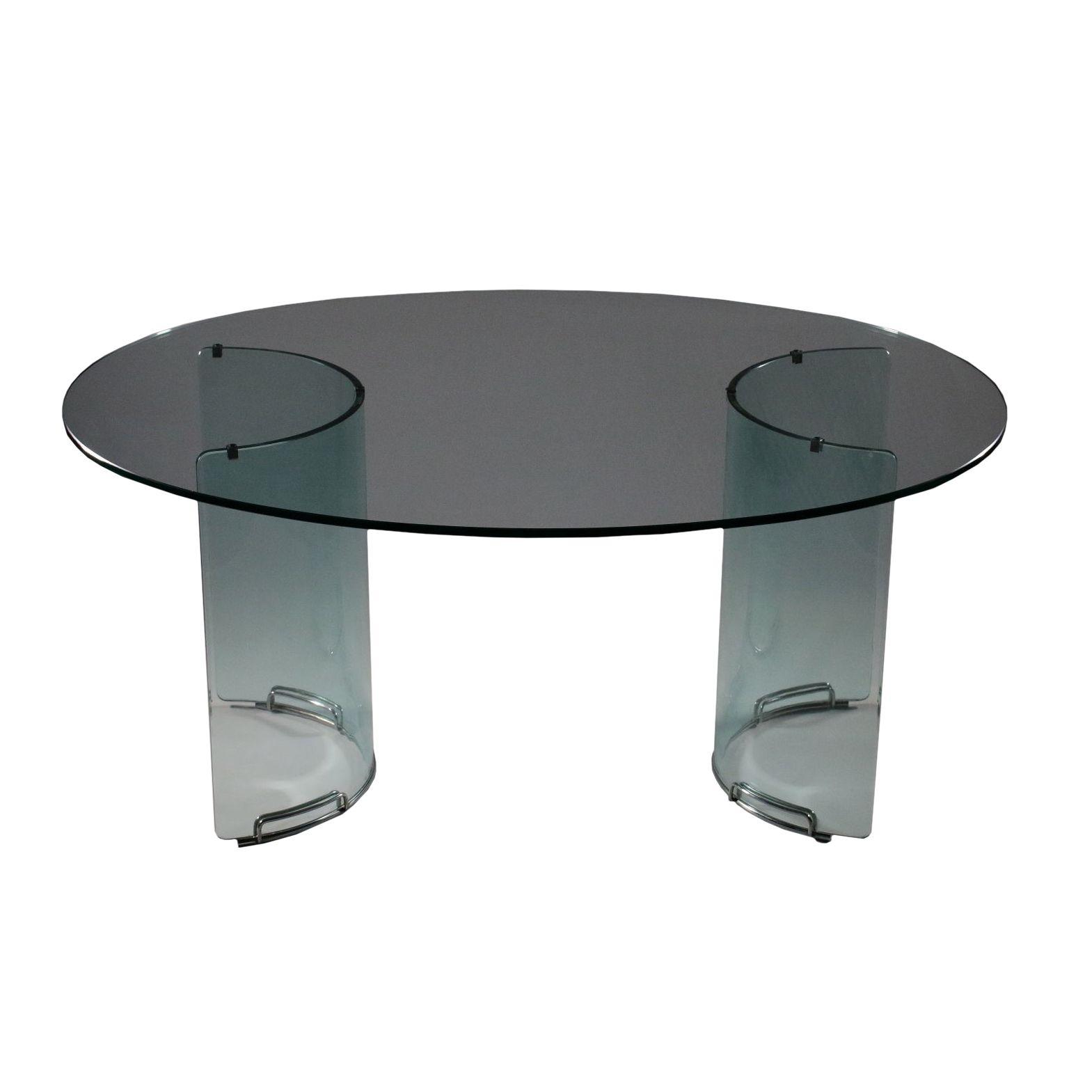 Table Verre Metal Chrome Fabrique En Italie Annees 70 80 Glass Table Metal Table Plexiglass Table [ 1536 x 1536 Pixel ]
