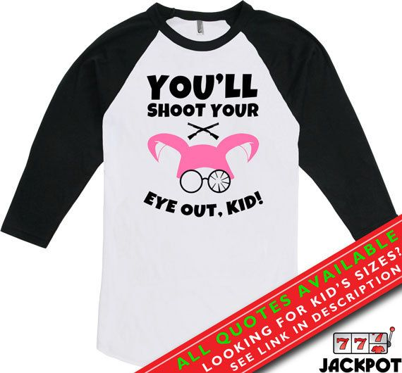a christmas story shirt youll shoot your eye out