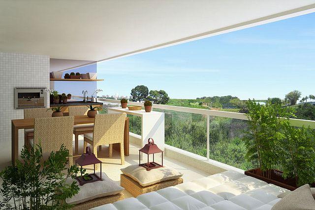 tante soluzioni per arredare un terrazzo o una veranda | Interior ...