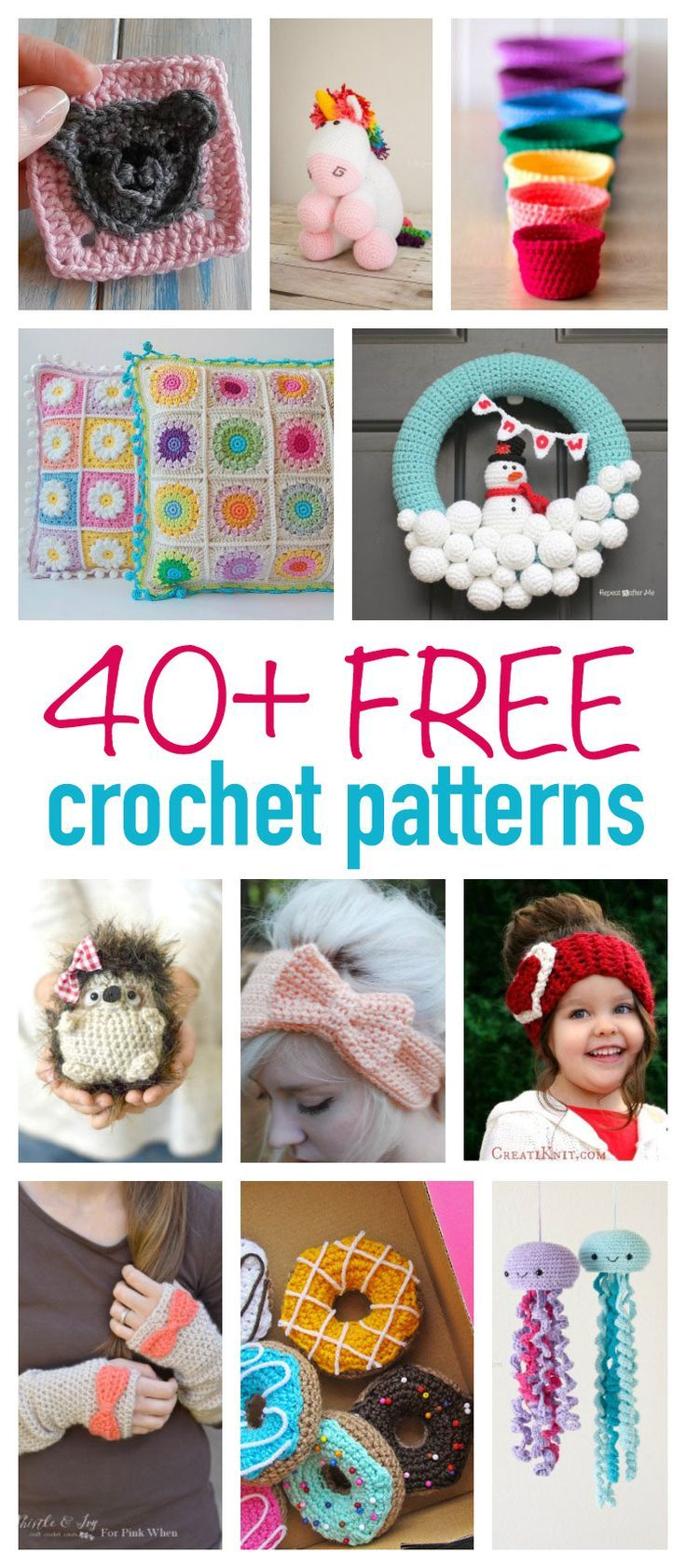 This collection of free crochet patterns includes simple crochet ...