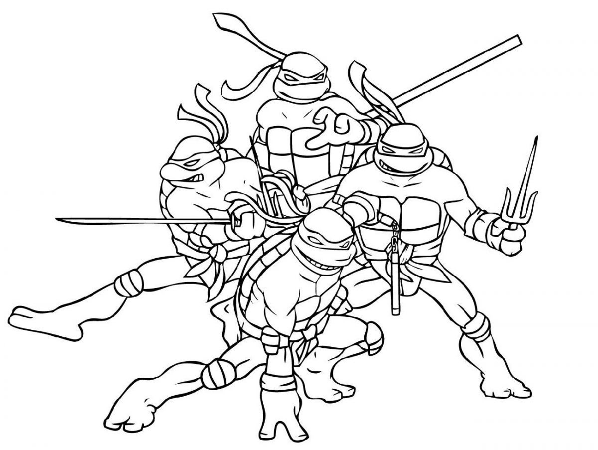Teenage Mutant Ninja Turtle Coloring Sheets Printable