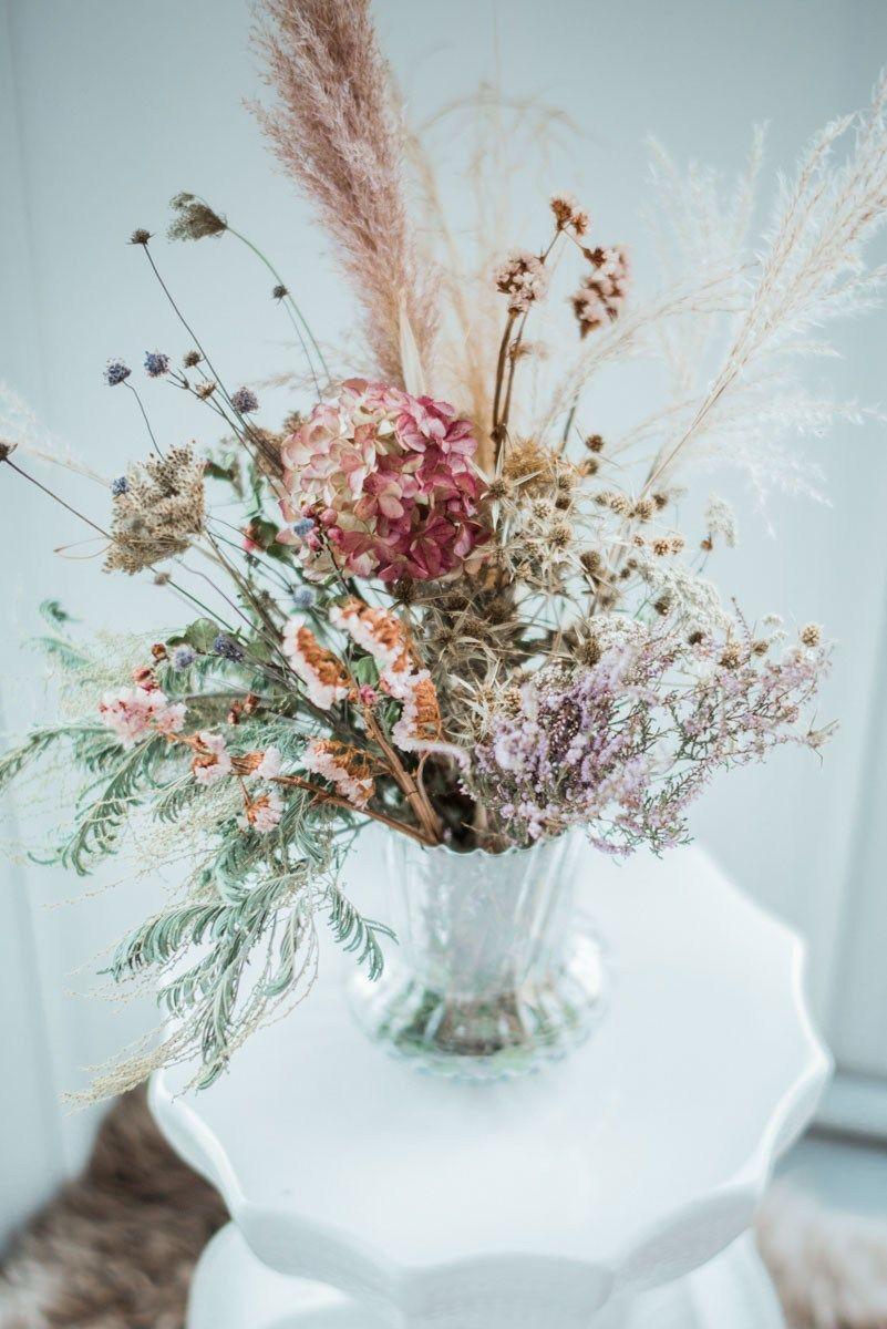 Comment Faire Secher Une Rose Fraiche mon bouquet de fleurs séchées : comment faire sécher des