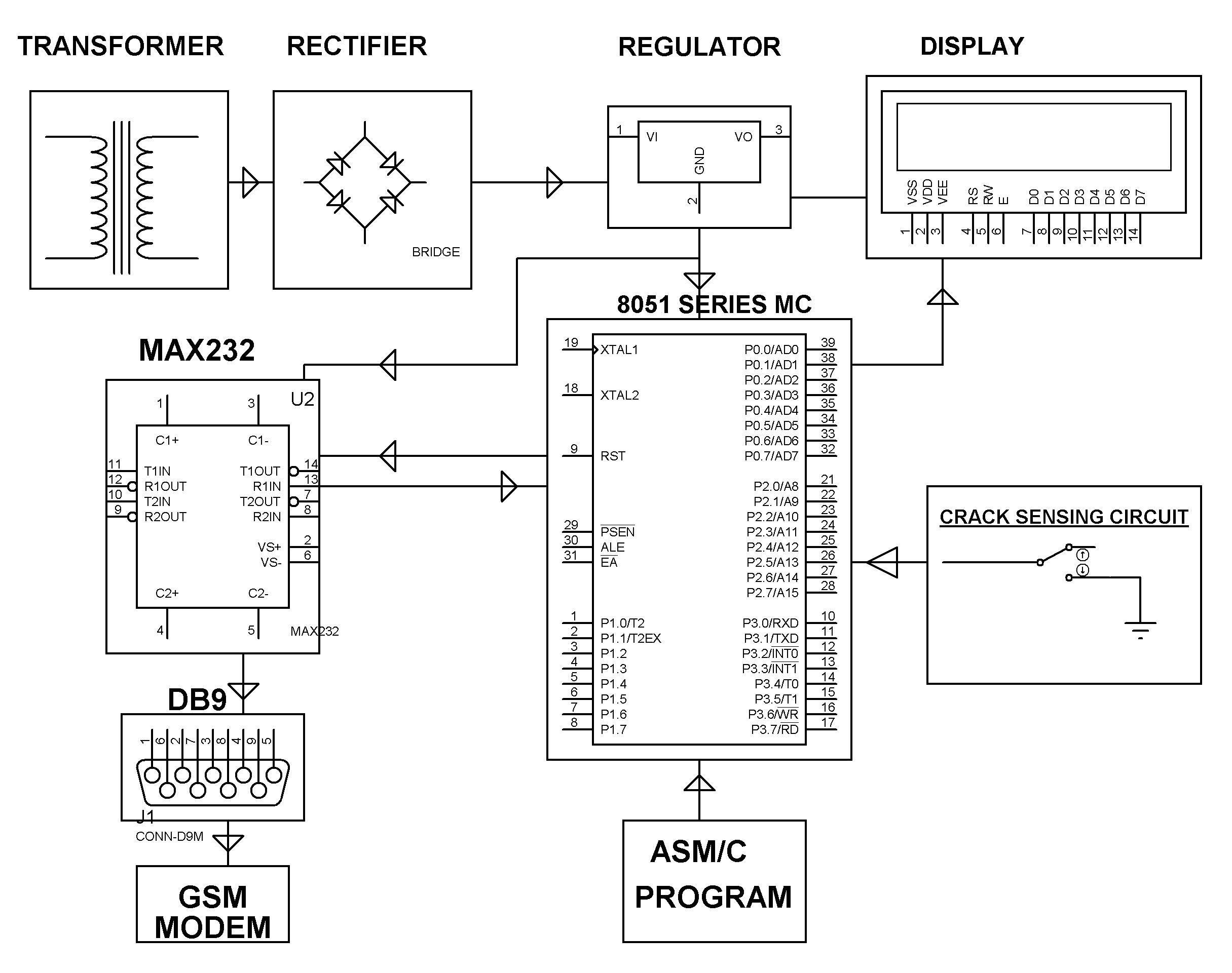 Circuit Diagram Of The Ttl Trigger Wiring Electronic Circuits Basic Alarm System Engineering