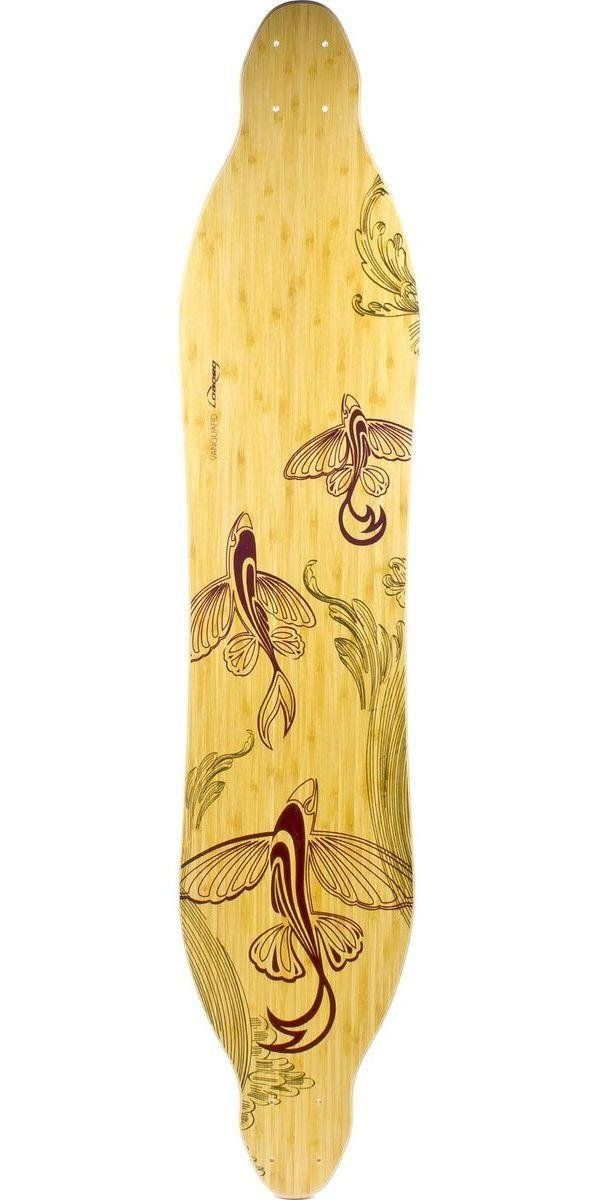 "Loaded Bamboo Vanguard 42"" Longboard Skateboard Deck - Flex 1. loaded vanguard deck flex 1."