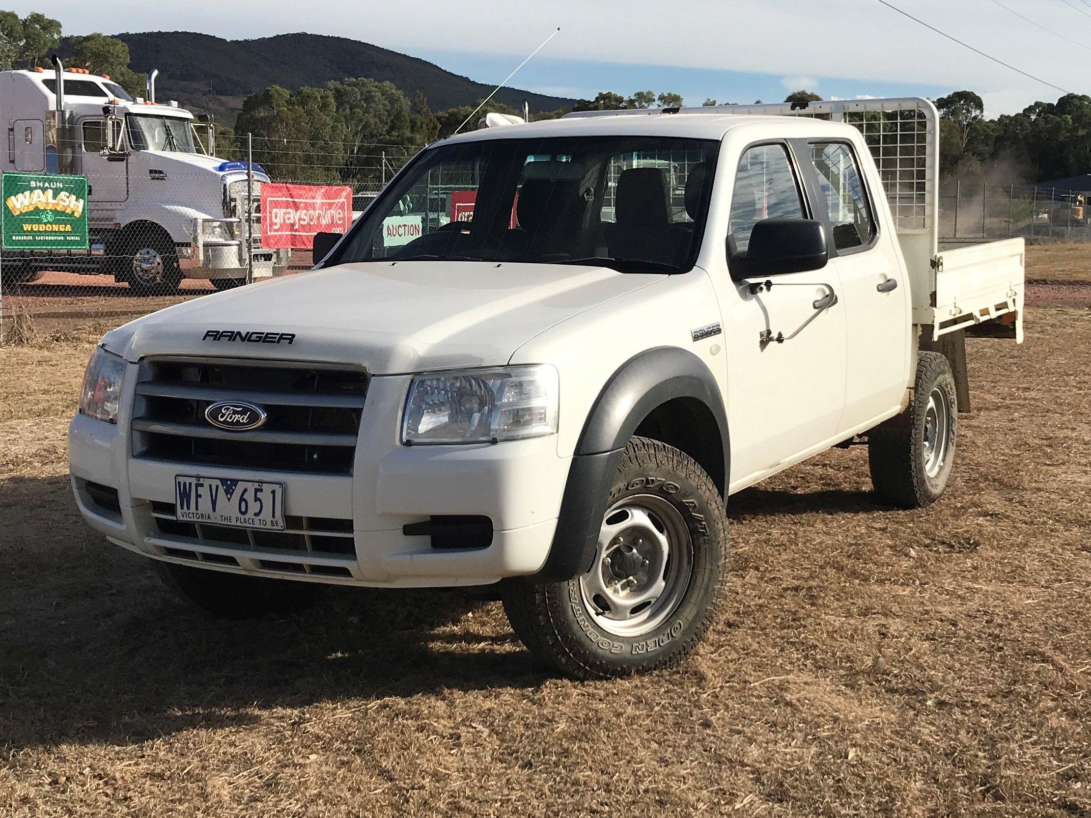 User Guide · 2007 Ford Ranger XL (4x4) PJ Turbo Diesel Manual Crew Cab  Chassis