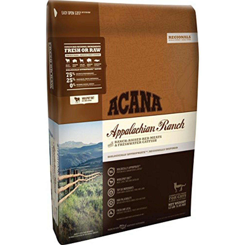 Orijen Acana Regional Appalachian Ranch Dry Cat Food, 12