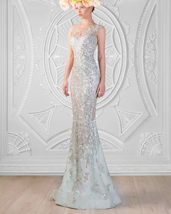36 Breathtaking Ice Queen Inspired Wedding Dresses For Fairy Tale