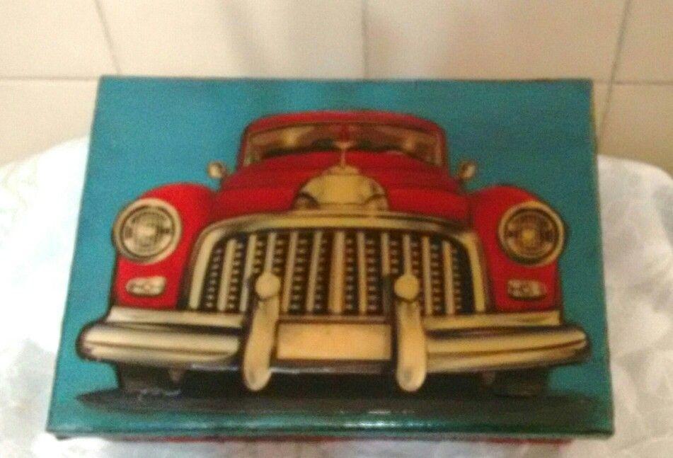 Caixa Carro antigo