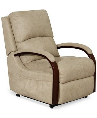 Percey Fabric Power Lift Recliner Chair Recliners