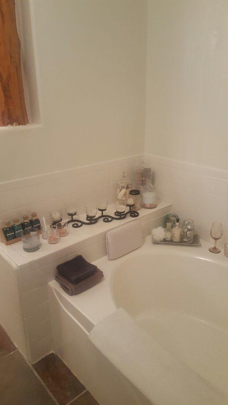Master Bath Garden Tub Simple Decor | Master bathrooms | Pinterest ...