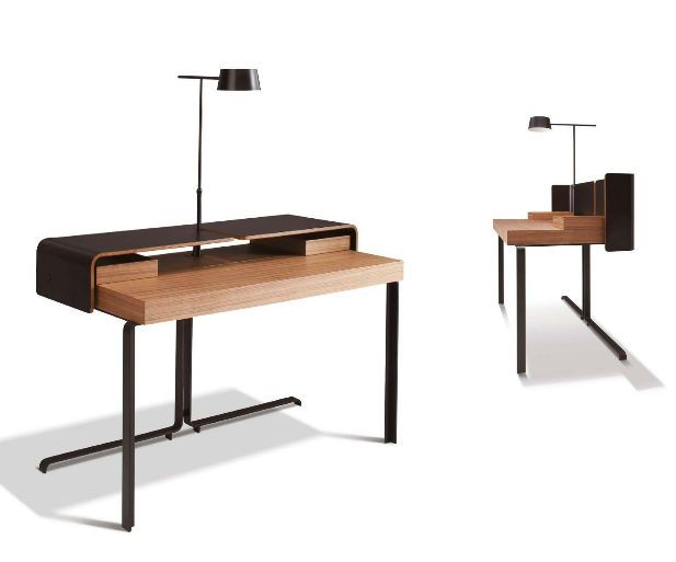 writing desk for hotel rooms split by meike russler. Black Bedroom Furniture Sets. Home Design Ideas