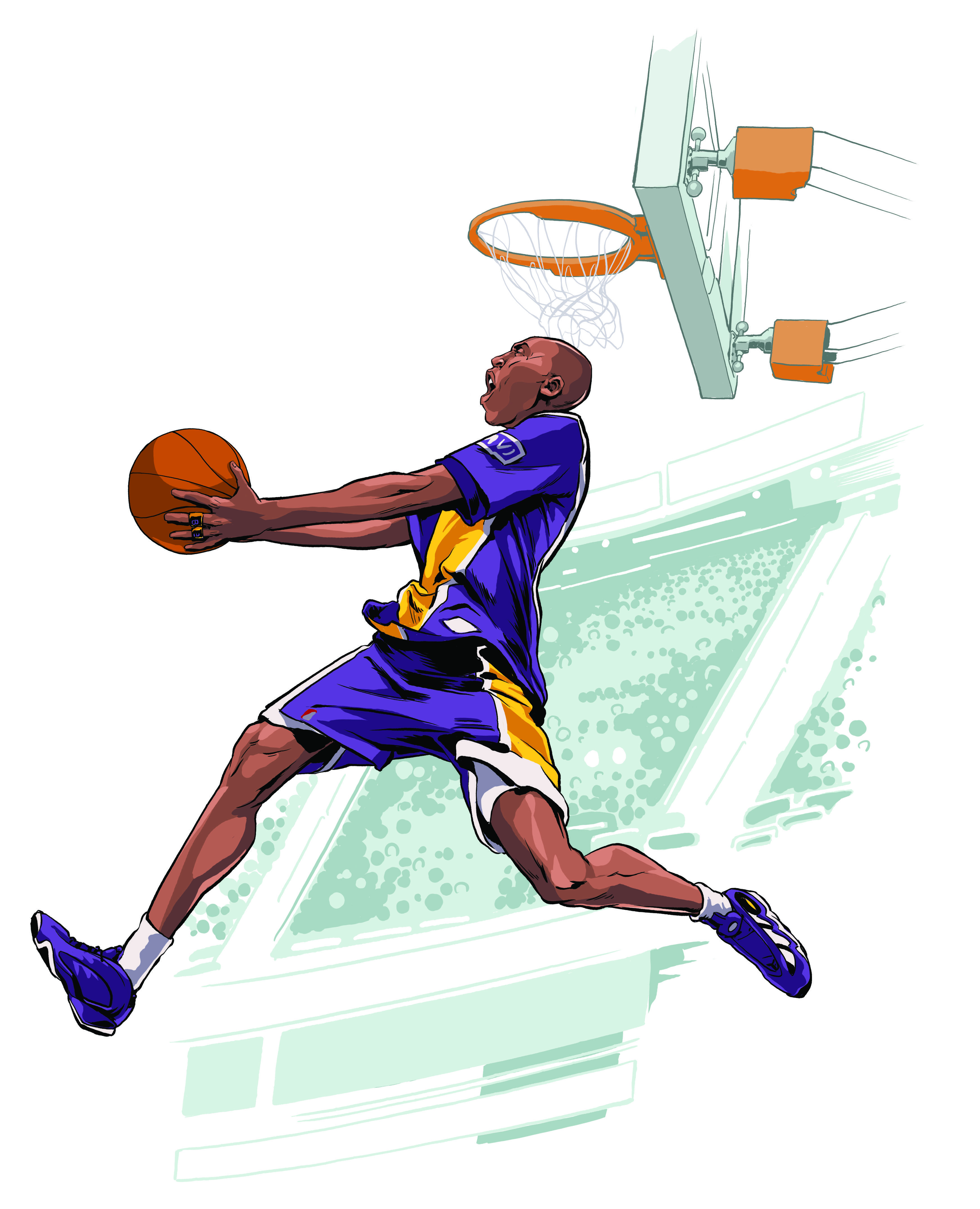 pretty nice 5b884 c6efa An illustrated look back at the Laker legend s storied career. Moments That  Defined Kobe Bryant s Career   Solecollector