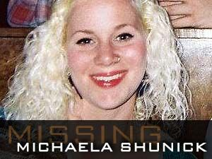 "05/31/2012  After finding the bicycle of Michaela ""Mickey"" Shunick under the Whiskey Bay Bridge in Lafayette, La., police rushed it to the state police crime lab to examine it closely for evidence. Mickey, now 22, went missing on May 19, 2012."