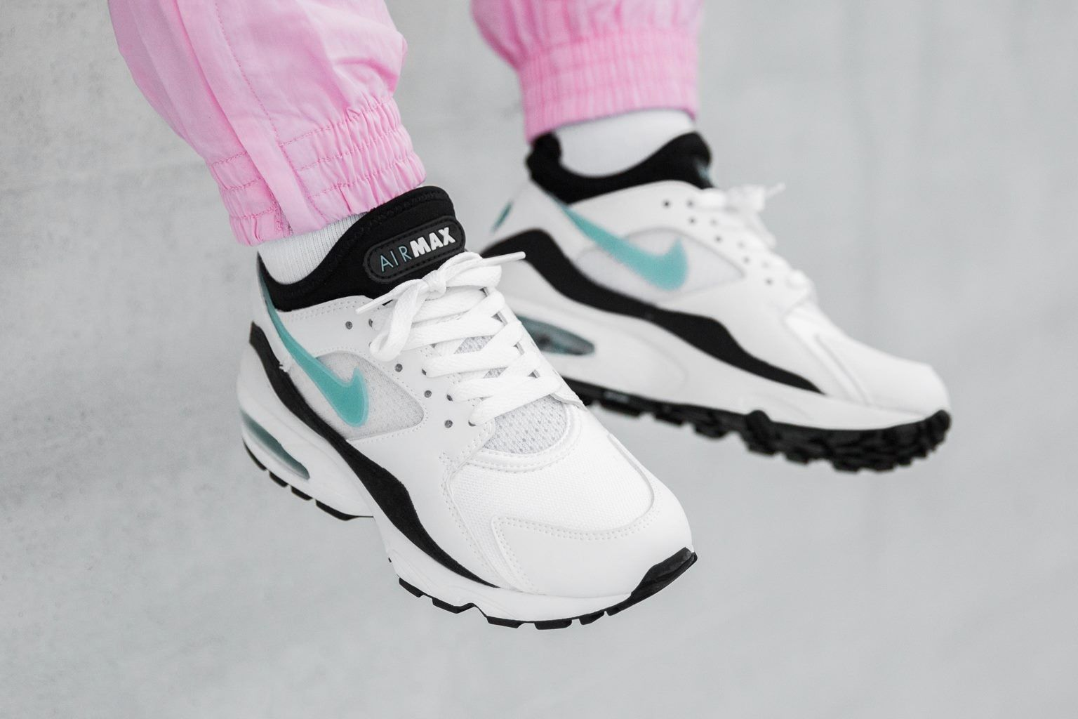 20a3de094a2 ... get nike air max 93 dusty cactus turquoise womens ladies girls sneakers  trainers where to buy
