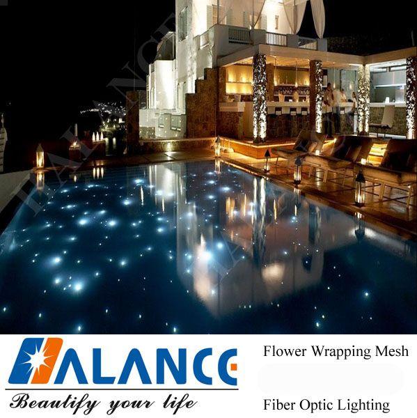 Starry Sky Fiber Optic Led Pool Light Swimming Pool Lighting For
