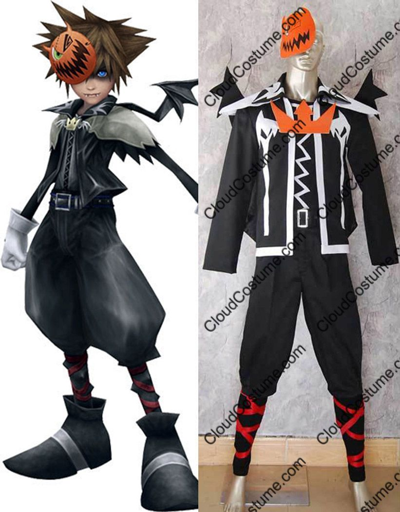 Sora Halloween Town – Kingdom Hearts