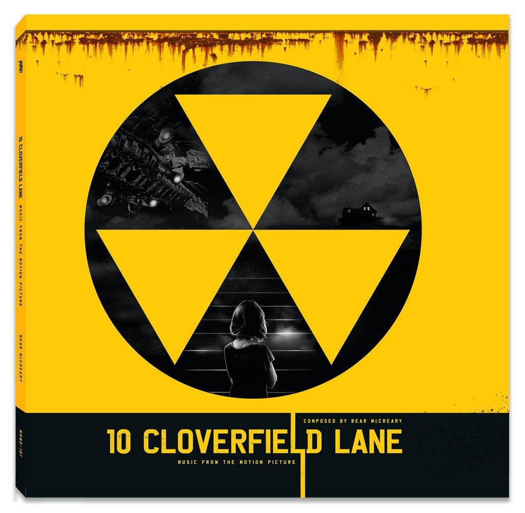 10 Cloverfield Lane Original Motion Picture Soundtrack 2xlp Cloverfield Cloverfield Lane 10 Cloverfield Lane