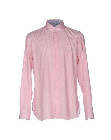 EMANUELE MAFFEIS Men's Shirt Red 17 ½ inches-neck