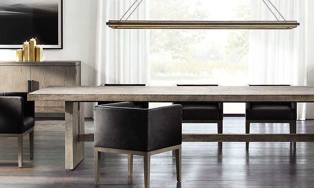 Pin by erika erler on rh modern salas jantar for Mobilia furniture hire