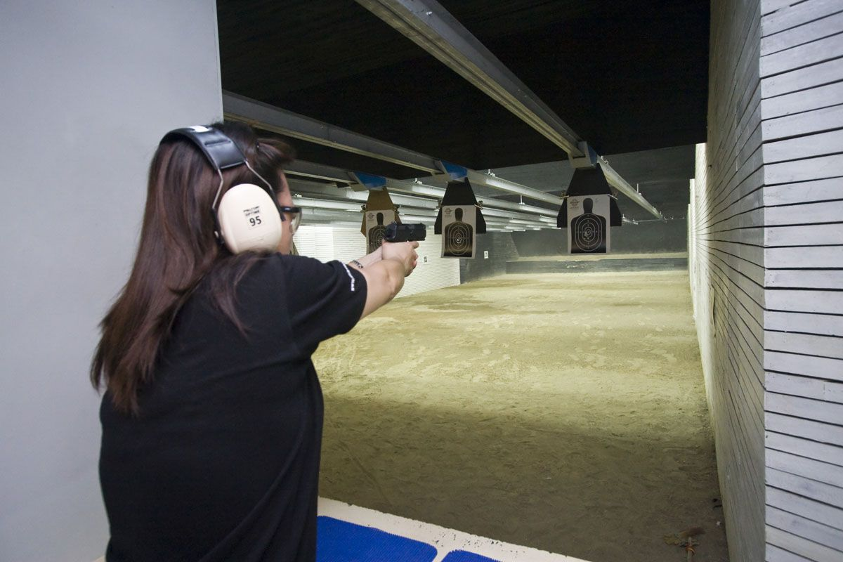 ...gear up and take your best shot at Club Ultima's Indoor