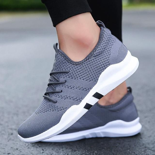 36cafc888ca TOURSH New 2018 Outdoor Running Sports Shoes For Adult Men Lace-Up Male  Brand Sneakers Comfortable Mesh Trainers Krasovki White