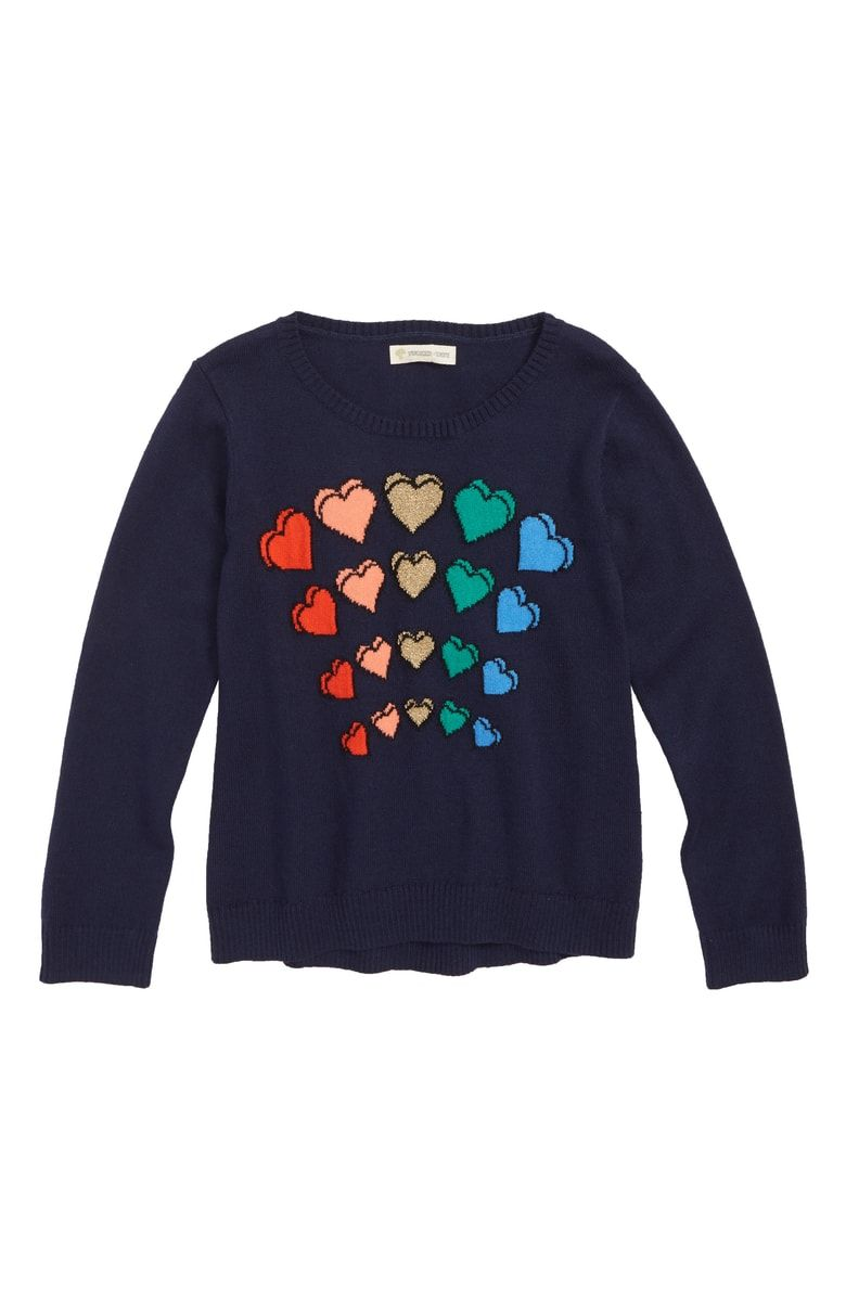 b8b1571626 Free shipping and returns on Tucker + Tate Sparkle Heart Sweater ...