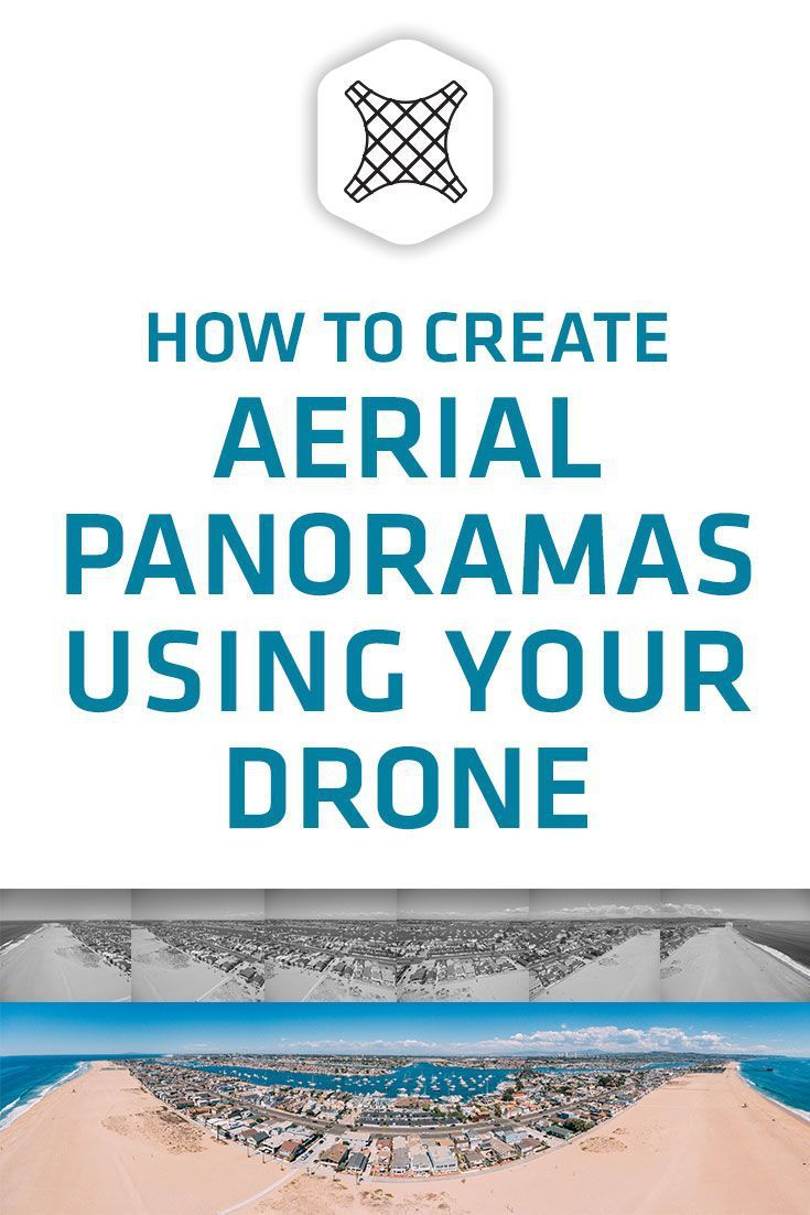 How to create an aerial panorama with a drone using adobe